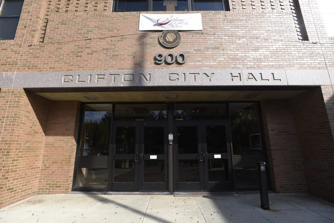 Clifton City Hall at Clifton and Van Houten avenues.