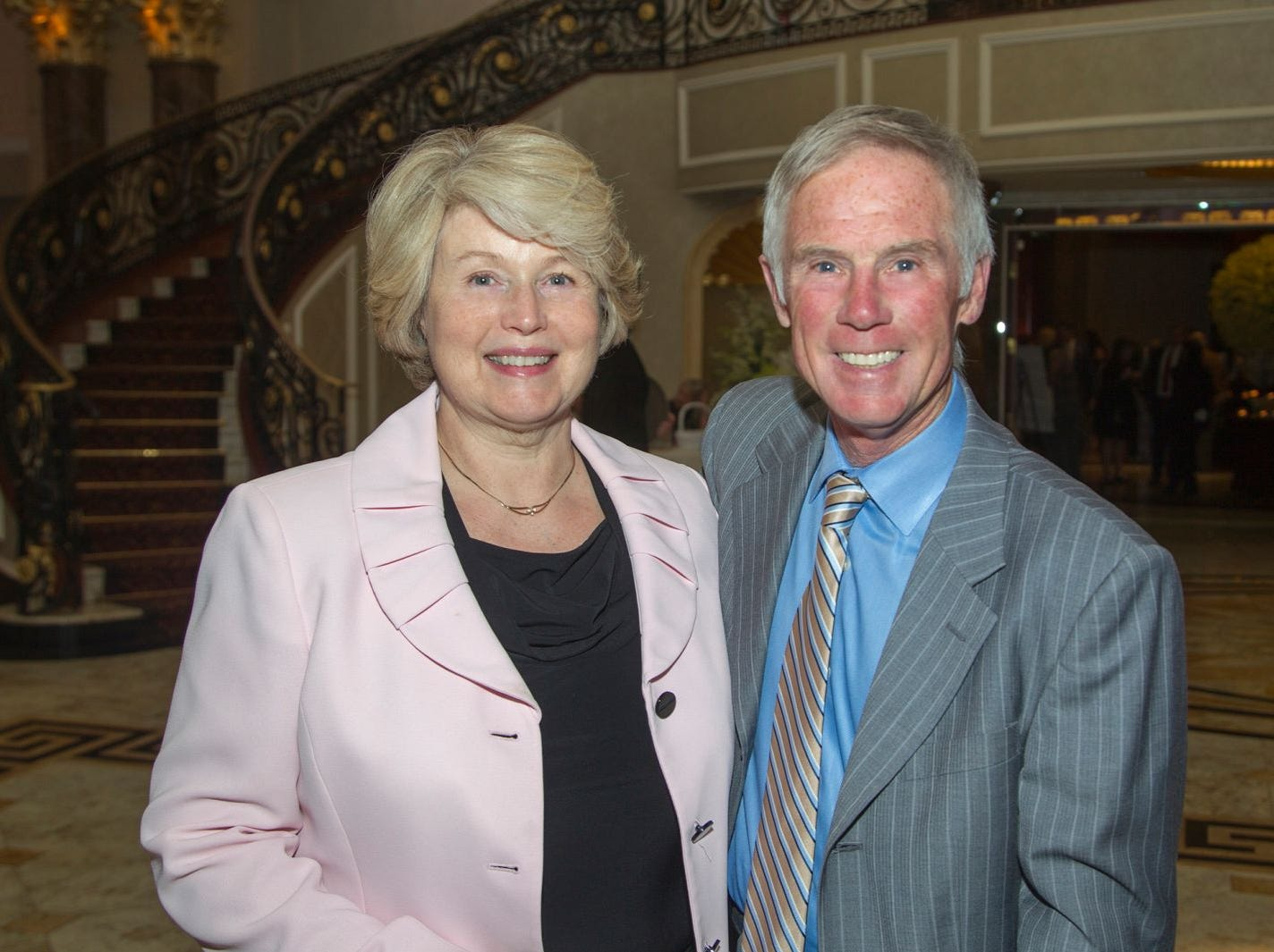 Janet and Brian McCourt. Holy Name Medical Center held its 2018 MS Center Awards Reception at the Venetian in Garfield. 10/23/2018