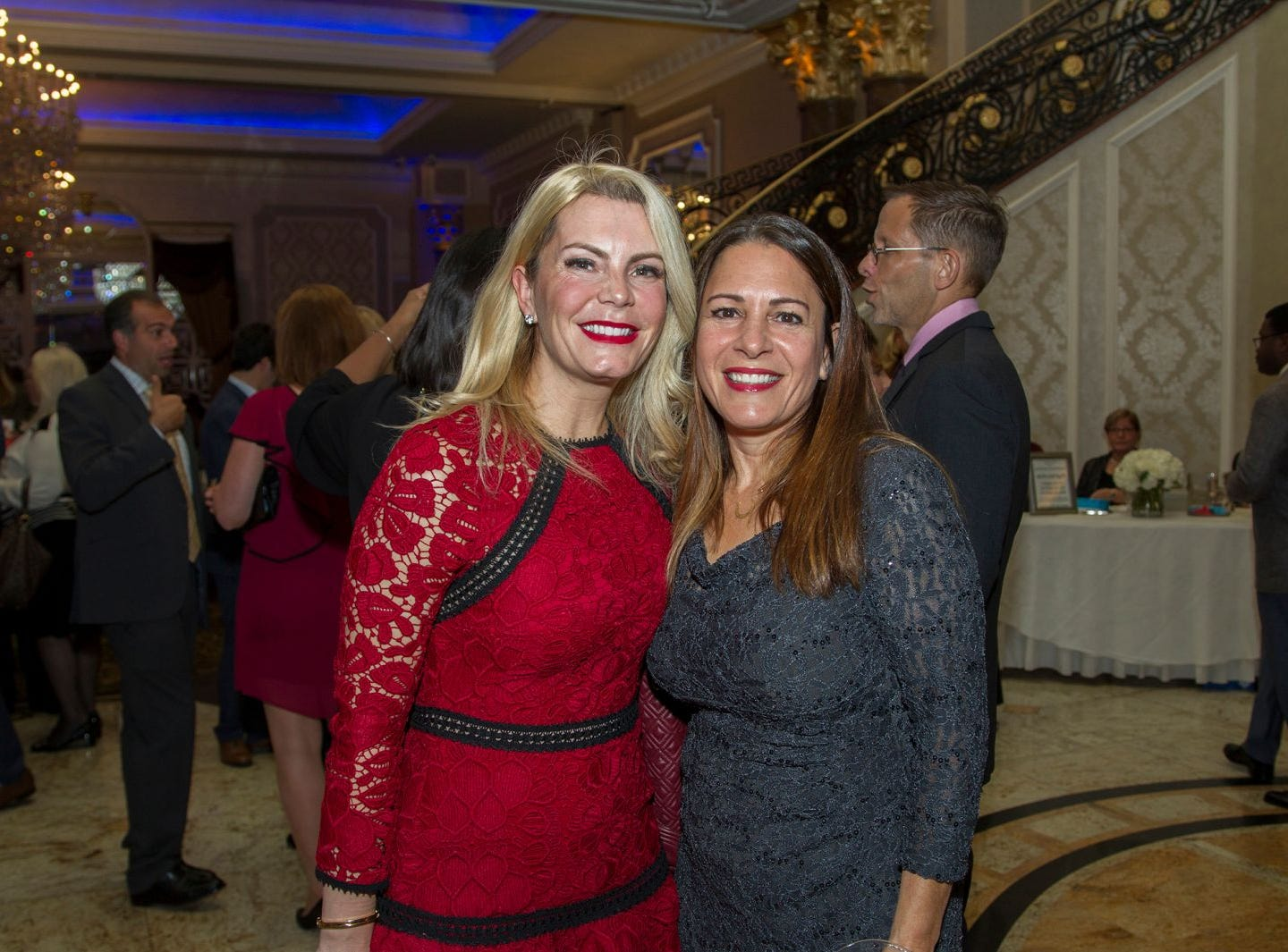 Alisha Alaimo, Laura Boodaghian. Holy Name Medical Center held its 2018 MS Center Awards Reception at the Venetian in Garfield. 10/23/2018