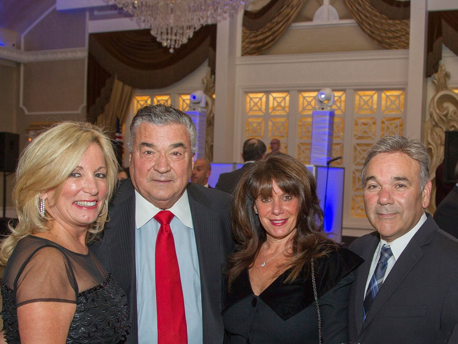 Lori Rubino, Joseph M. Sanzari, Regina and John Salemme, Holy Name Medical Center held its 2018 MS Center Awards Reception at the Venetian in Garfield. 10/23/2018