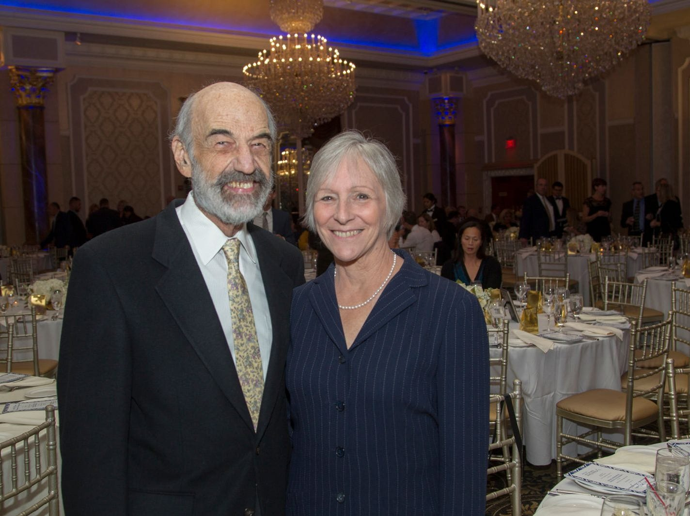 Dr. Joe Frascino and Kathy Frascino. Holy Name Medical Center held its 2018 MS Center Awards Reception at the Venetian in Garfield. 10/23/2018