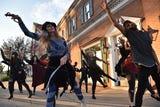"Art Of Motion of Ridgewood organizes a ""Thriller"" flash mob for Halloween"