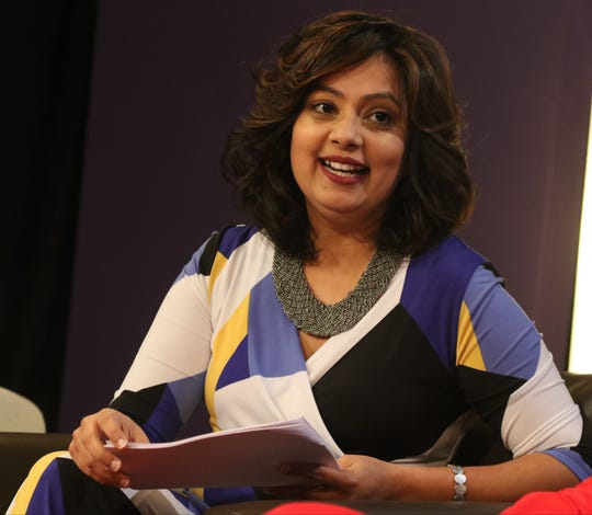 Neha Mahajan fears that she will lose her job hosting a current affairs show on TV Asia under changes to visa programs that the Trump administration is seeking to make.