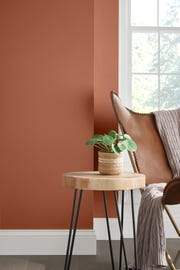 "Sherwin-Williams recently introduced Cavern Clay as its Color of the Year. The ""burnt orange hue"" is warm in tone with terra cotta characteristics."
