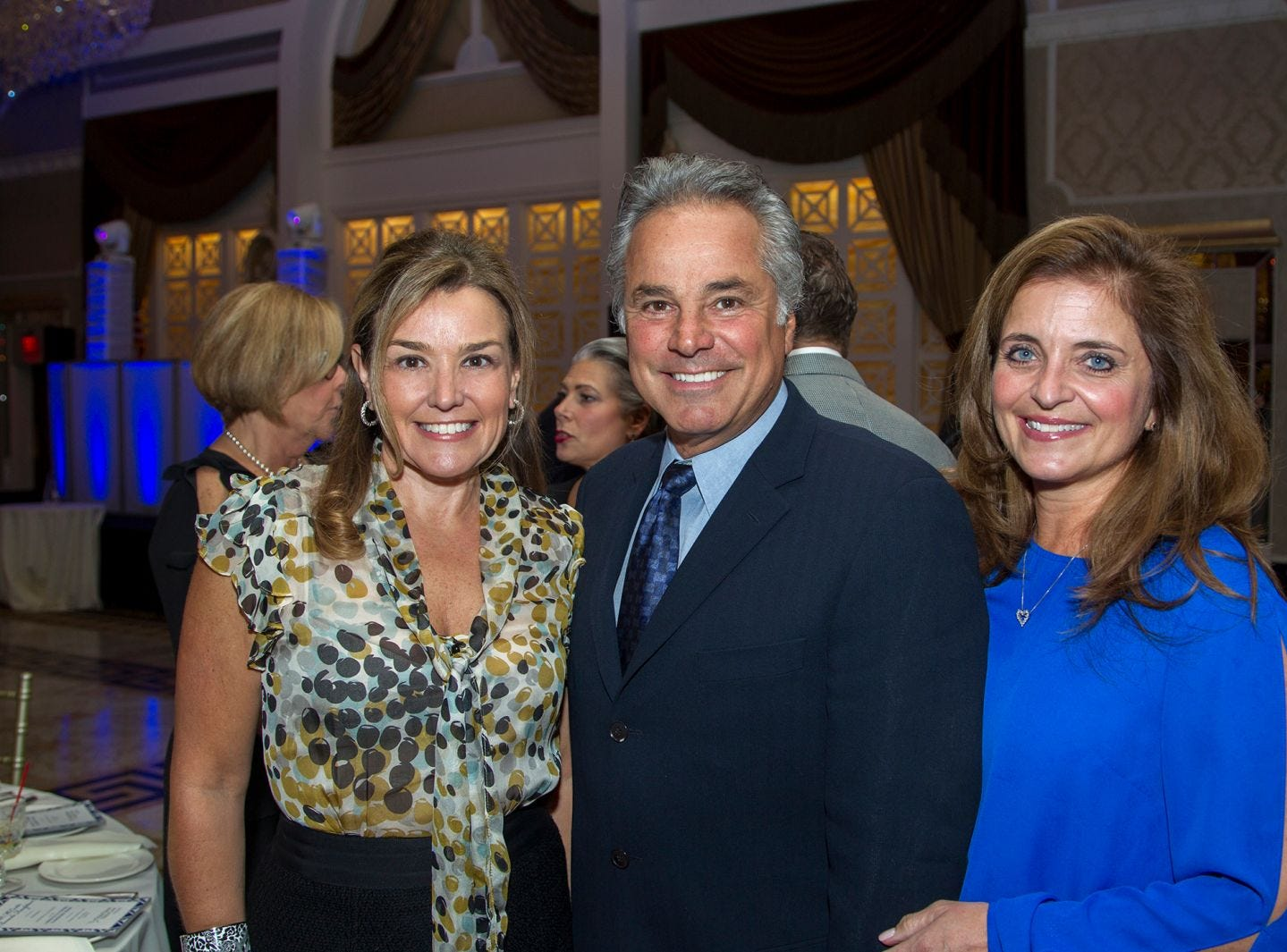JoAnn Sanzari, Guy and Dawn Balzano. Holy Name Medical Center held its 2018 MS Center Awards Reception at the Venetian in Garfield. 10/23/2018