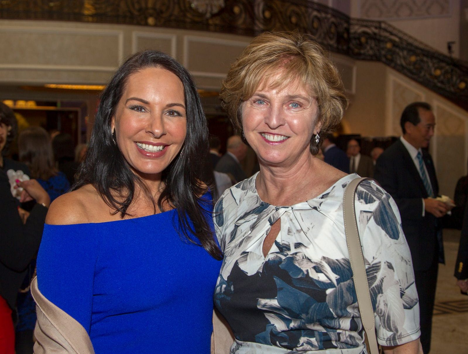 Inez Inserra, Mary Onorato. Holy Name Medical Center held its 2018 MS Center Awards Reception at the Venetian in Garfield. 10/23/2018