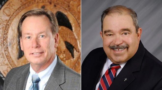 Tim Eichenberg, left, and Arthur Castillo
