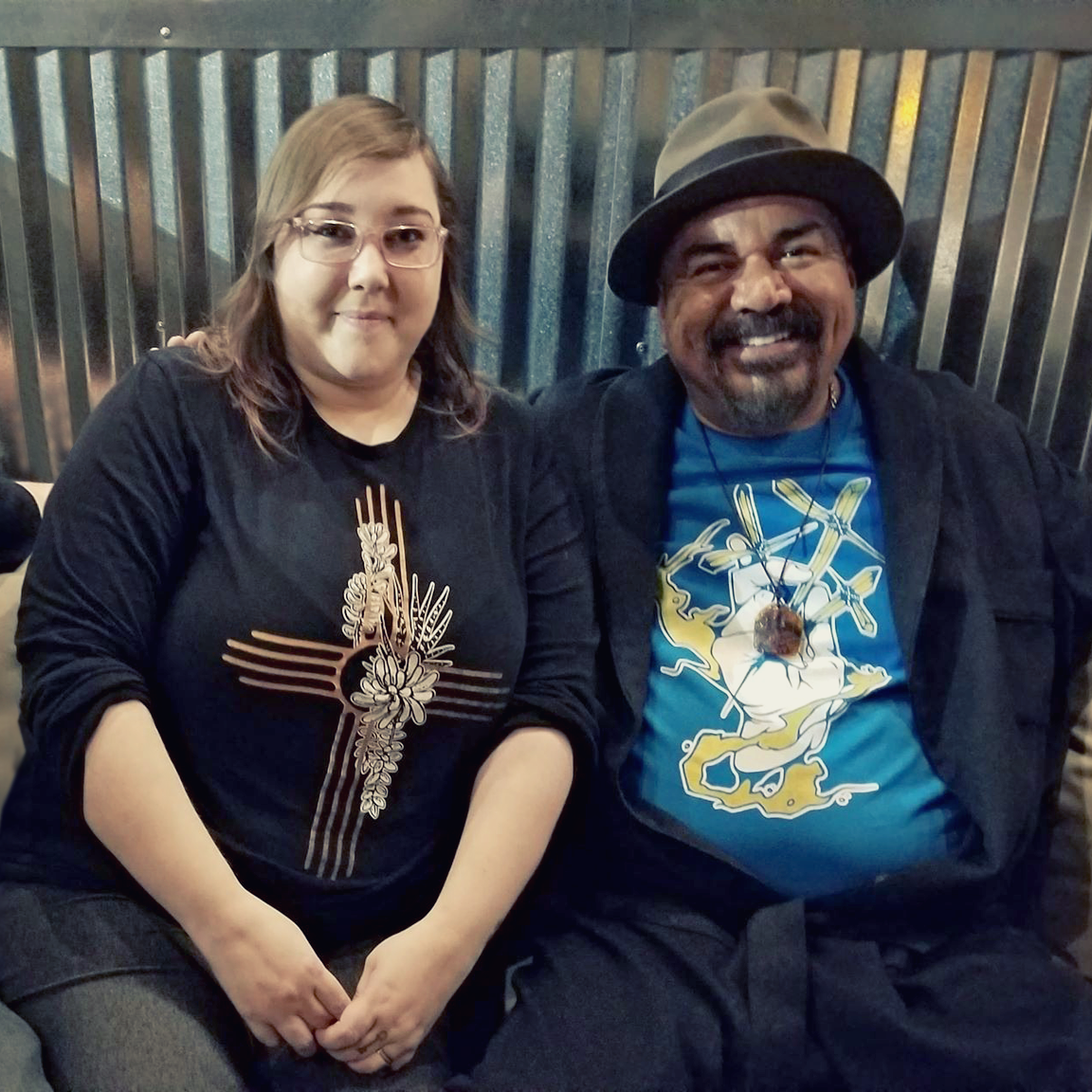 George Lopez will wear Las Cruces artist's designs in 'Walking with Herb'