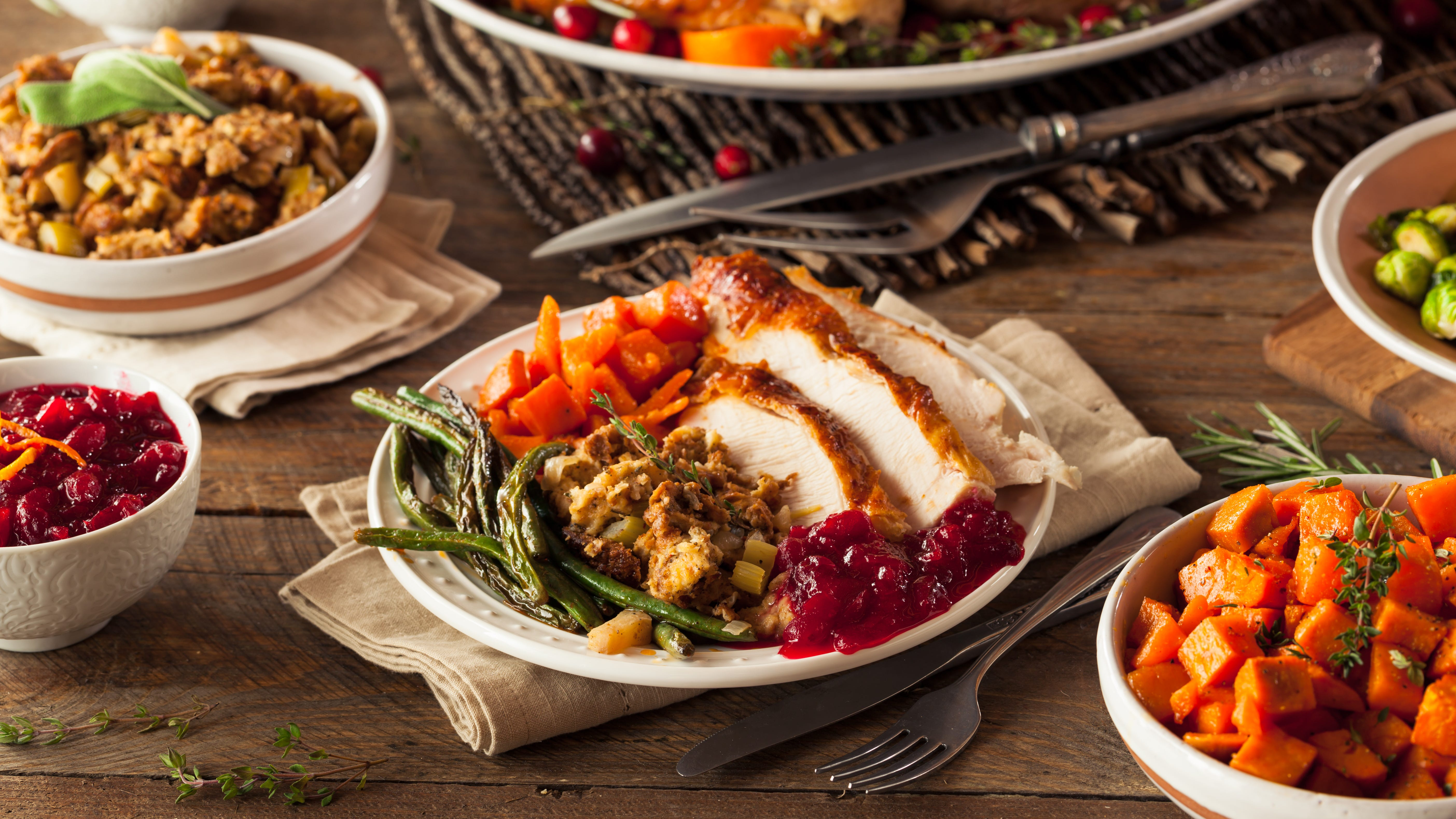 Several local restaurants in town will offer festive meals on Thanksgiving day.