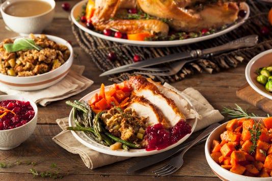 Full Homemade Thanksgiving Dinner