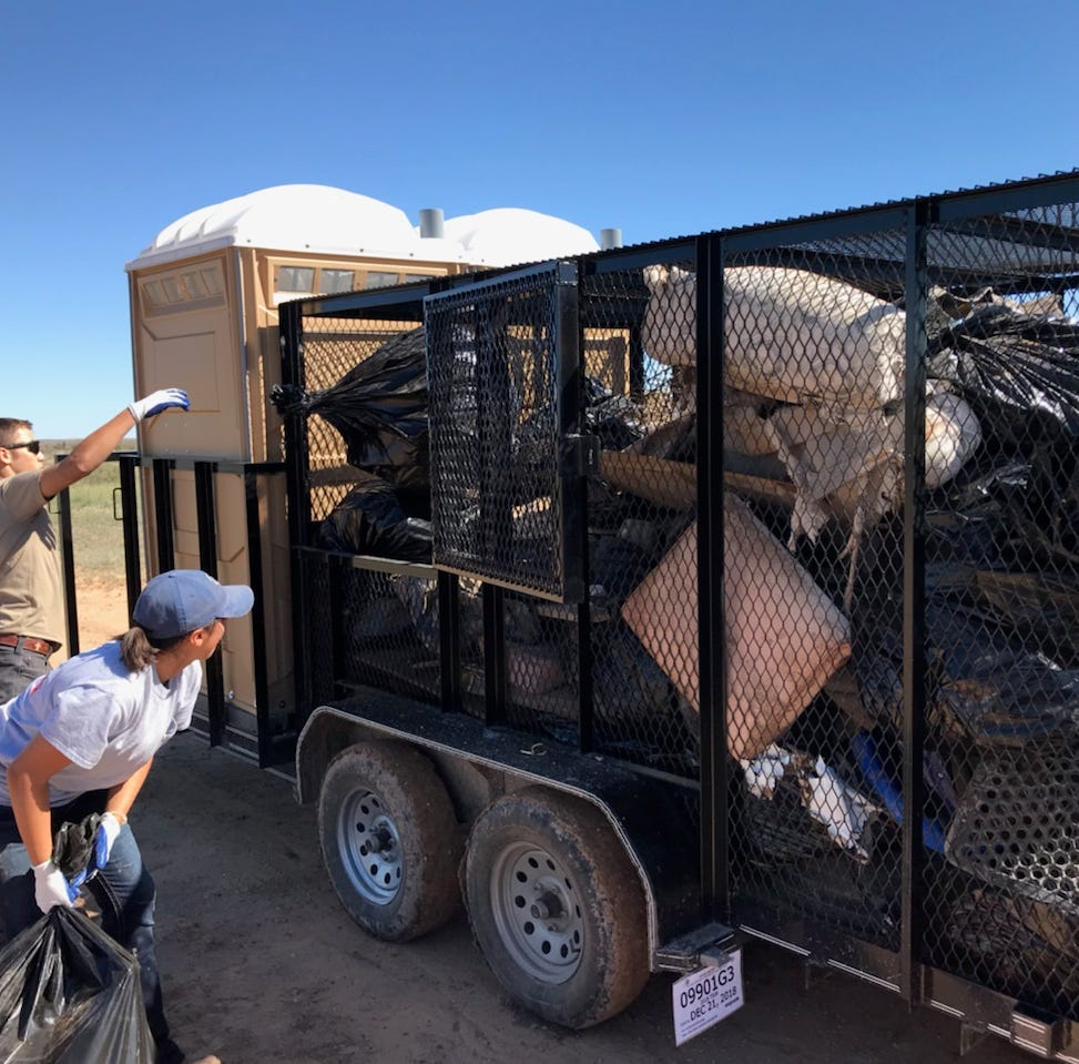 Business news: Local oil and gas help clean up Pecos River