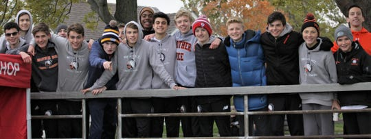 Brother Rice, led by Alec Miracle's third-place finish, raced to the Division 1 boys cross country state championship meet by taking second place at the recent regional.