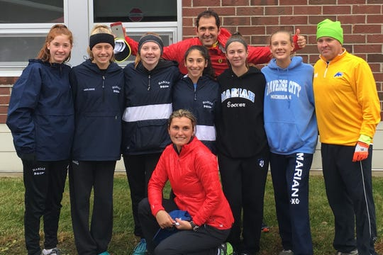 Bloomfield Hills Marian's girls cross country team had an exceptional third-place regional finish to qualify for the Division 2 state championship meet.