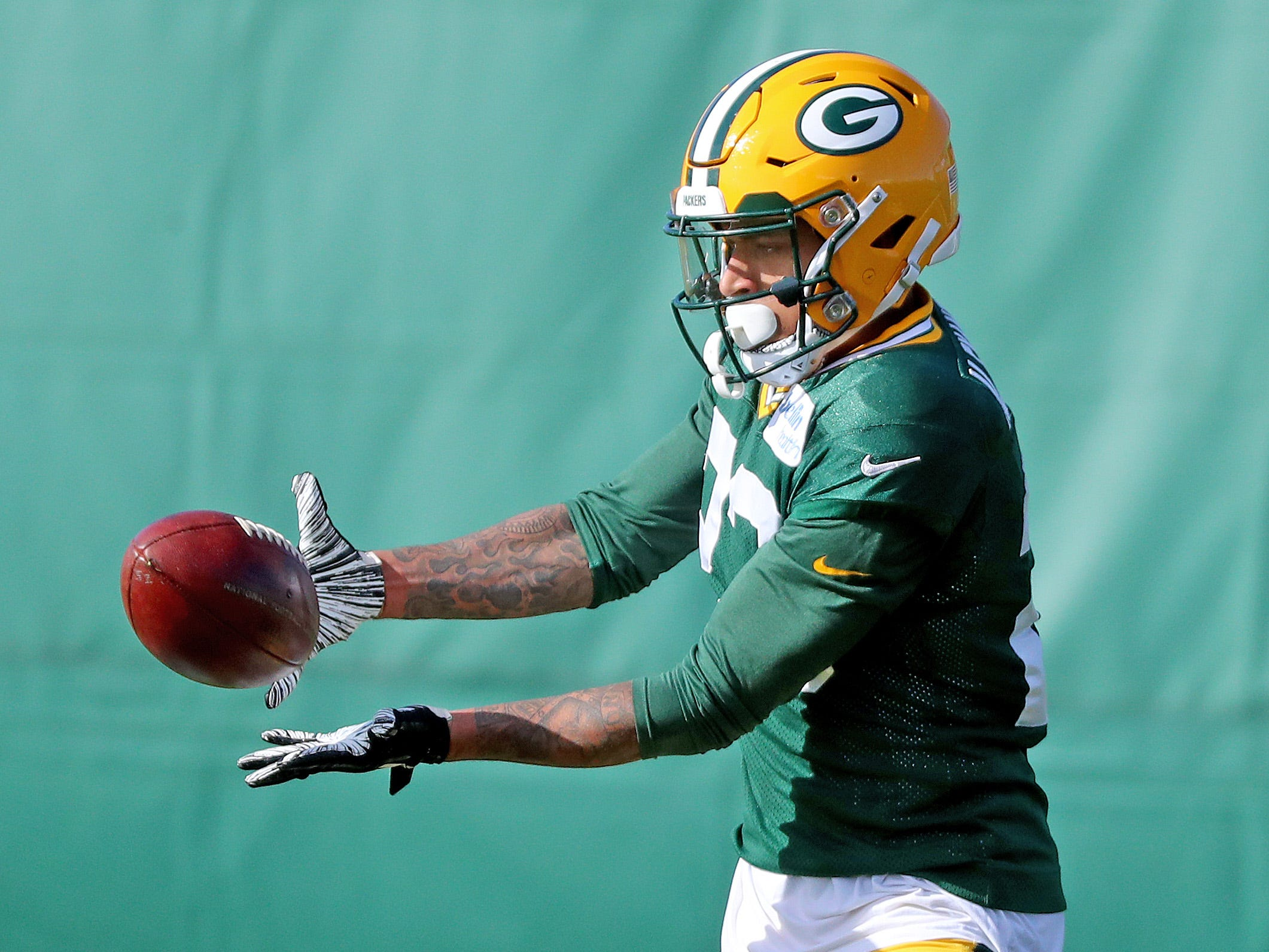 Green Bay Packers cornerback Jaire Alexander (23) during practice on Clarke Hinkle Field Thursday, November 1, 2018 in Ashwaubenon, Wis.