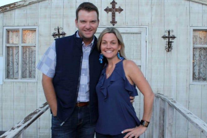 BBBSD Board Member, Jenn Walton and her husband Mike.
