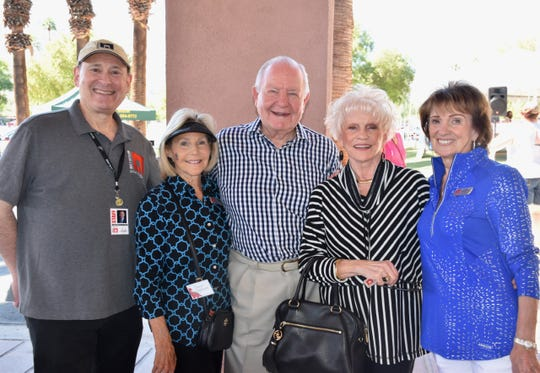McCallum President & CEO Mitch Gershenfeld, Susan Gelman, Robert Taylor, Muses & Patroness Circle President Mary Latta, Gail Houghton