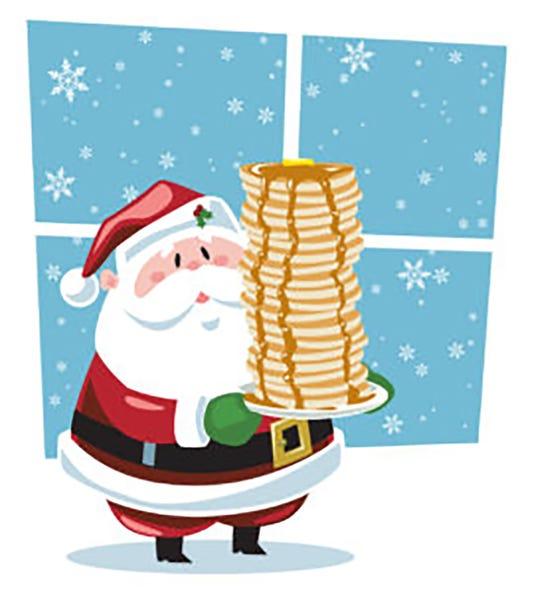 Pancakes With Santa Photo 270x300