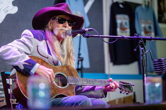 """The Pensacola's Foo Foo Festival and the Frank Brown International Songwriters' Festival presentation, """"An Evening with Dean Dillon: A Tribute to Larry Butler""""  at 6 p.m. Friday at  Vinyl Music Hall, 2 Palafox Place."""