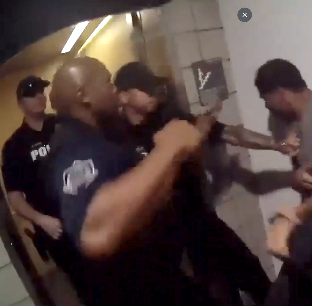 Unarmed man punched, kneed by Mesa police officers files lawsuit