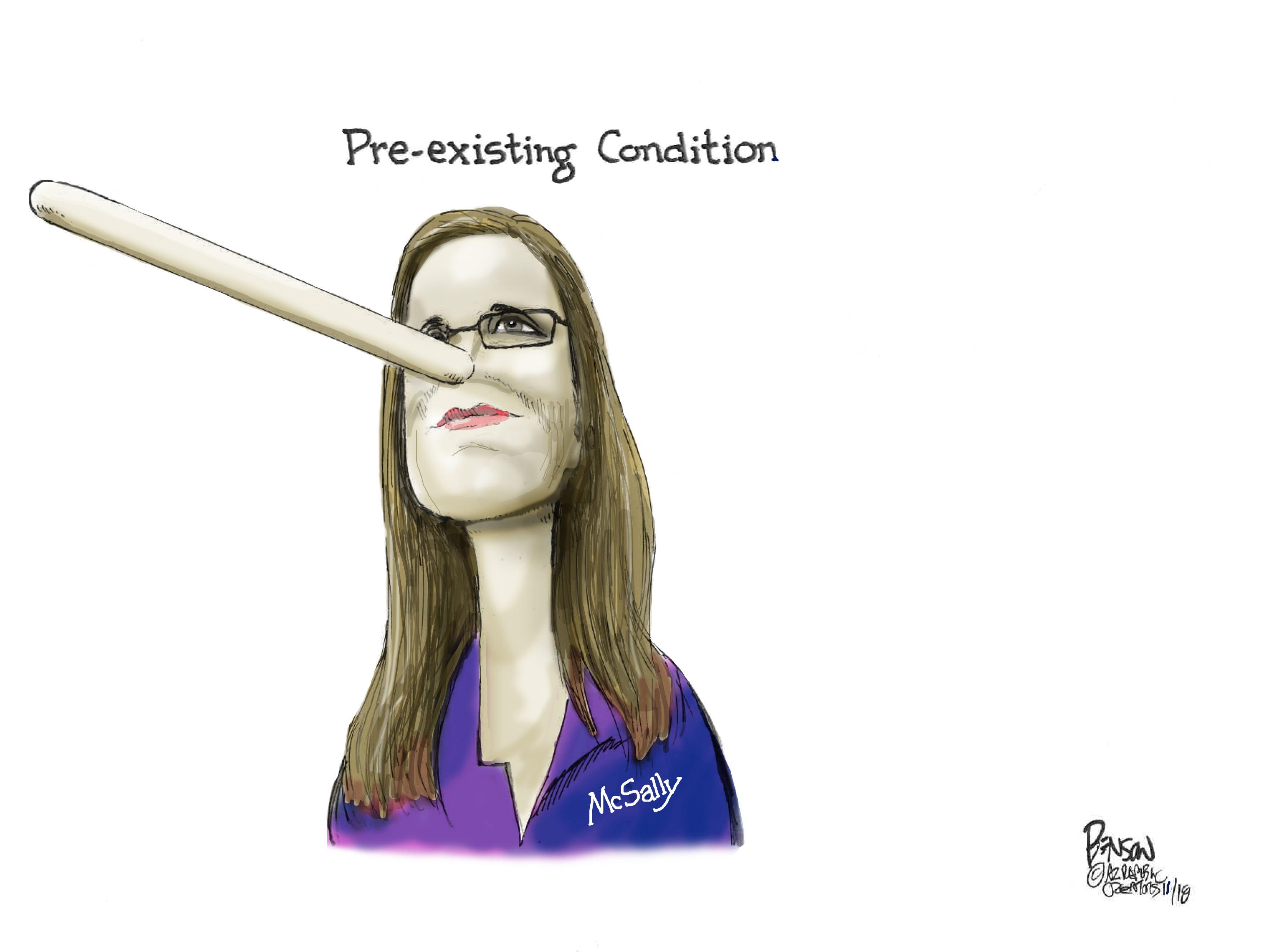 Cartoon for Nov. 1, 2018.