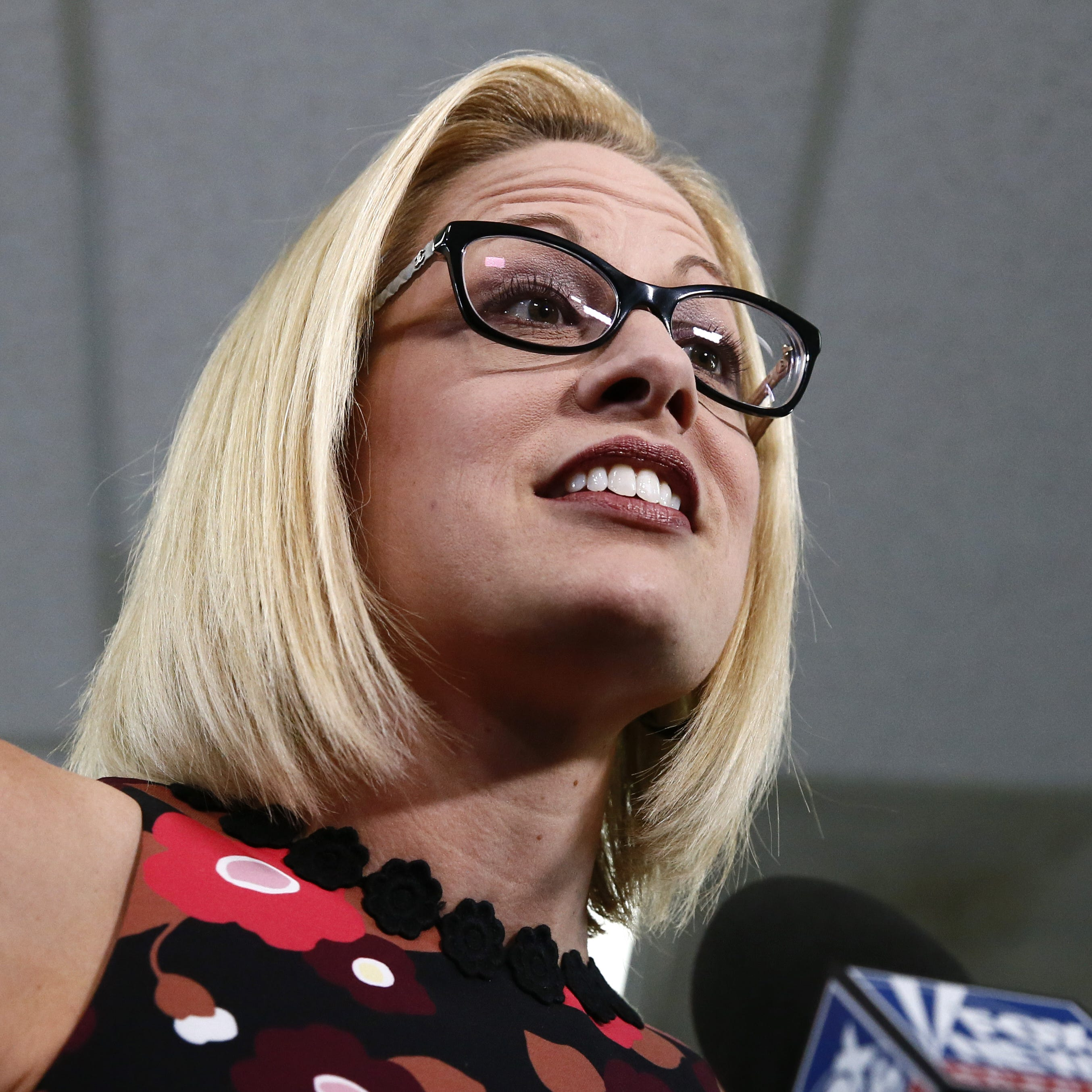 Kyrsten Sinema beats Martha McSally to become Arizona's first female senator