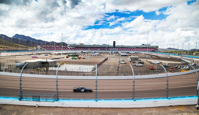The renovation at ISM Raceway in Phoenix is nearly complete.  Final touches are being made in the massive renovation of the former Phoenix International Raceway, Wednesday, October 3, 2018.