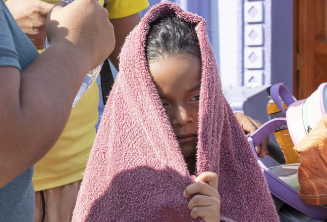 The so-called caravan of Central Americans is made up of people -- like this child. It's time to reject the scare tactics and recognize our shared humanity.