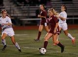 Arlington girls soccer lose in the Class AA regional semifinal to Monroe-Woodbury.