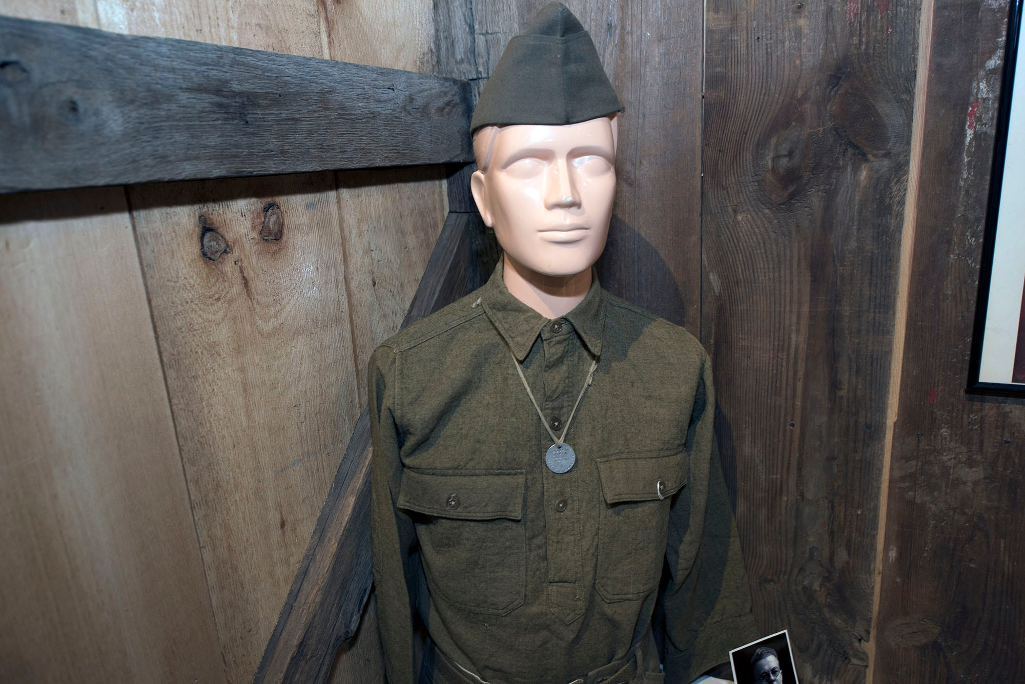 A World War I exhibit is on display at Antrim Allison Museum, 365 S. Ridge Avenue, Greencastle.