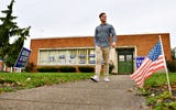 Nicholas Scott, 17, talks about his father, George Scott, and his own view on politics.