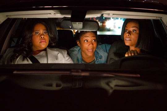 "From left,  Amber Riley, Tiffany Haddish and Tika Sumpter star in ""Nobody's Fool."" The movie is playing at Regal West Manchester Stadium 13 and R/C Hanover Movies."