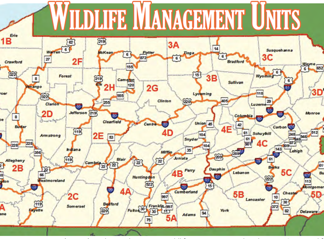 Bobcats In Pa Map
