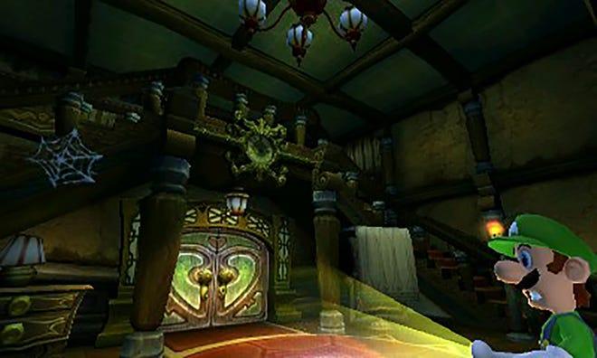 Luigi's Mansion for the Nintendo 3DS.