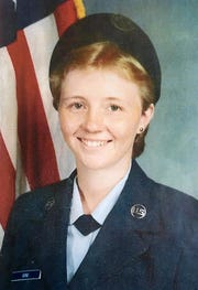Barbara Harris during her Oregon National Guard service.