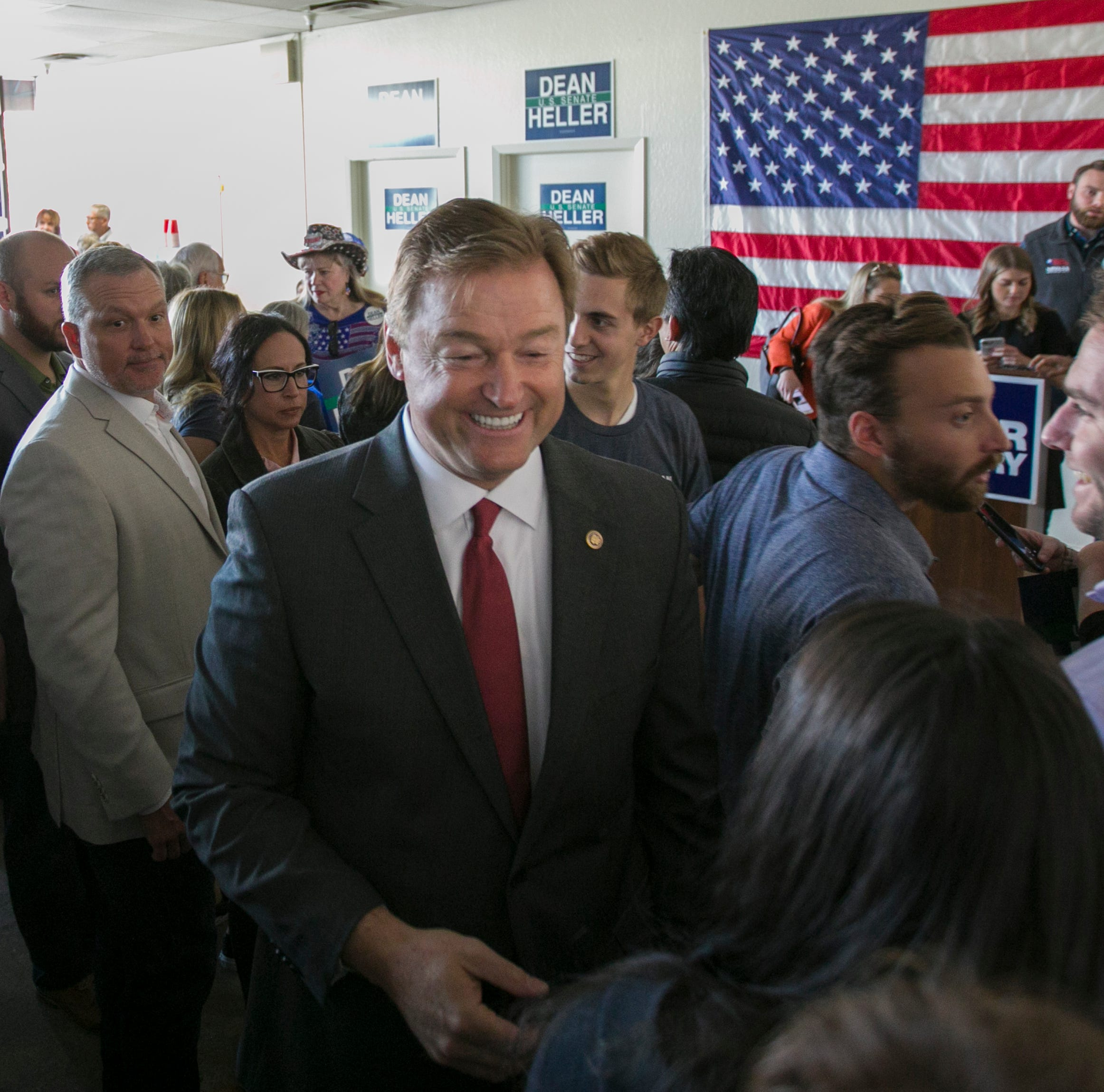 Heller says goodbye to congressional colleagues in emotional speech from the Senate floor