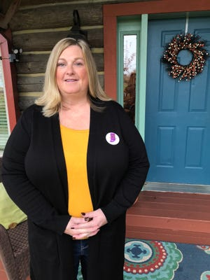 Lori Morgan, a Richmond business owner, is serving as the campaign manager for Sixth Congressional District candidate Jeannine Lee Lake.