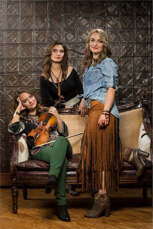 The Quebe Sisters, a trio of Texas-based singers and fiddle champions, will perform at Civic Hall in Richmond on Nov. 3.
