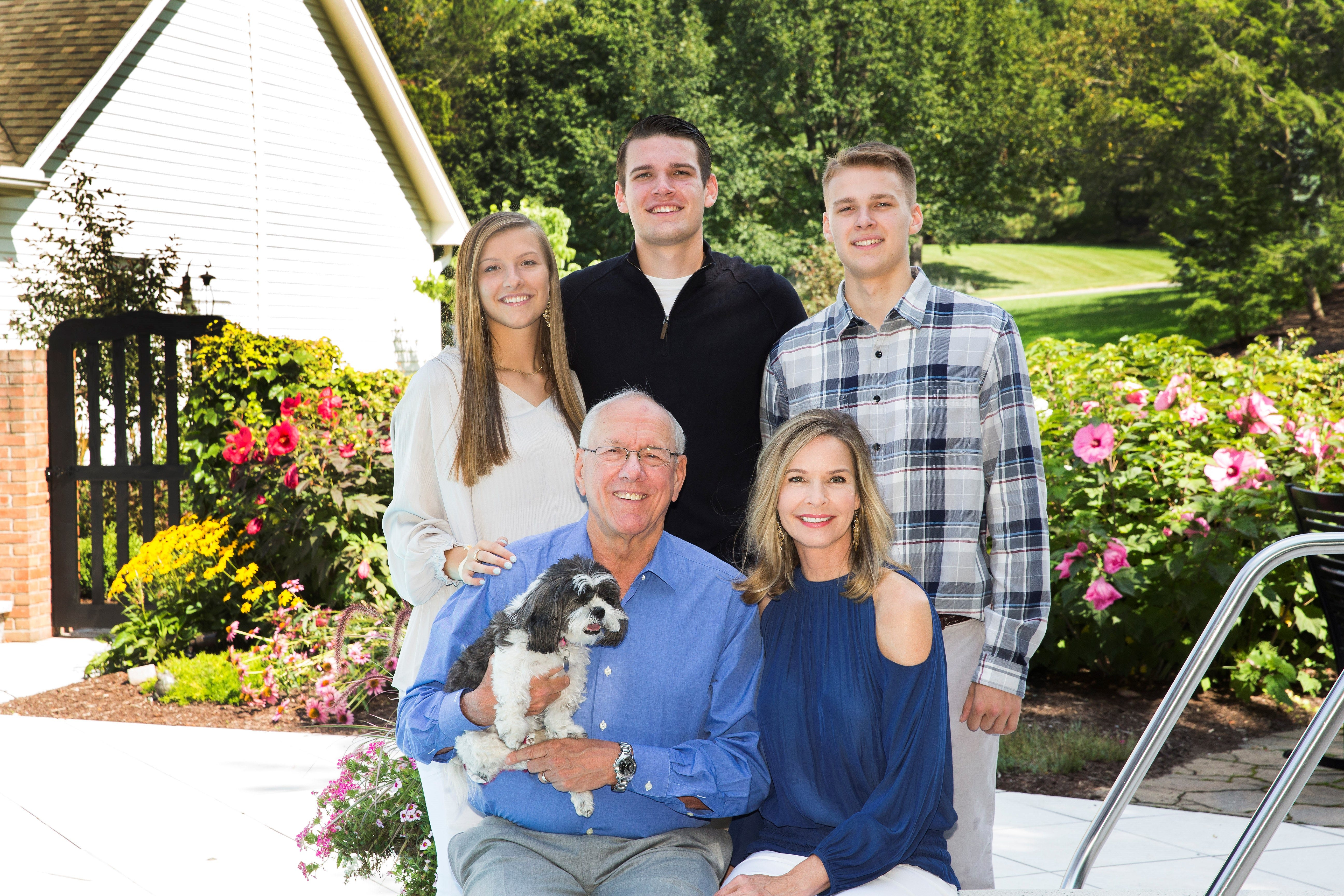 Hall of Fame dad: How Jim Boeheim's three kids grew up to play college basketball