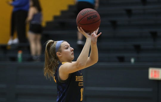 """Jamie Boeheim is a freshman at the University of Rochester, where her dad, SU coach Jim Boeheim, once interviewed. """"She knows what's she's doing out there and a lot of it is growing up in that family,'' Yellowjackets coach Jim Scheible said. """"For me, it's an honor to coach her and to a have such a prominent basketball coach as her dad.''"""