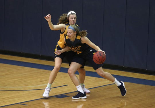 Jamie Boeheim is a freshman at the University of Rochester. She said her dad, SU coach Jim Boeheim, offers her tips but never over does it, he'd rather just be her father, not her coach.