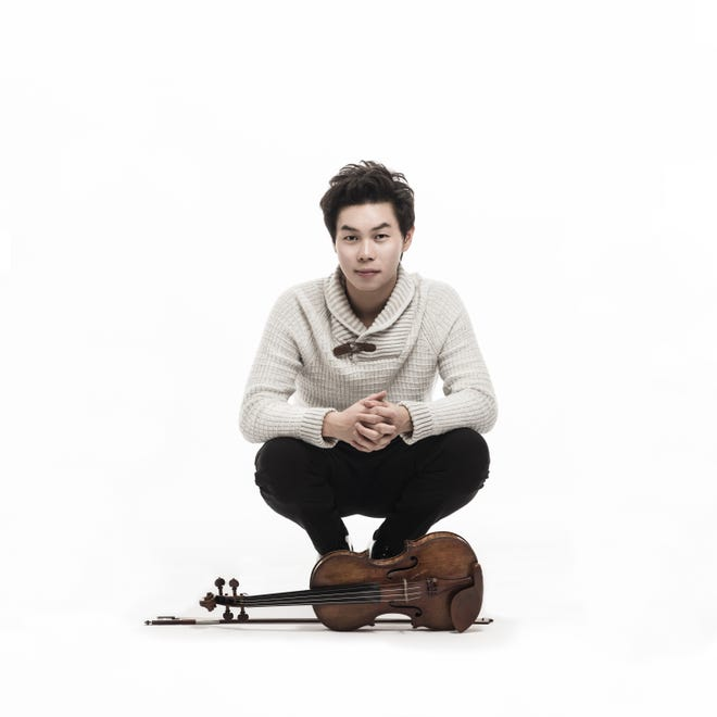 Violinist Timothy Chooi performs with the North State Symphony on Saturday.
