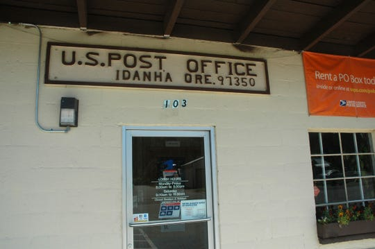 The Postal Service considered closing the Idanha post office a few years ago.