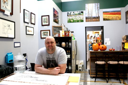 Divine Distillers owner, Jason Greenwood, is pictured at his store on Oct. 31, 2018.