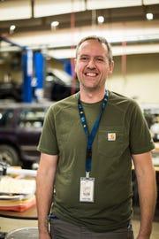 Mike Melting, automotive teacher, McNary High School