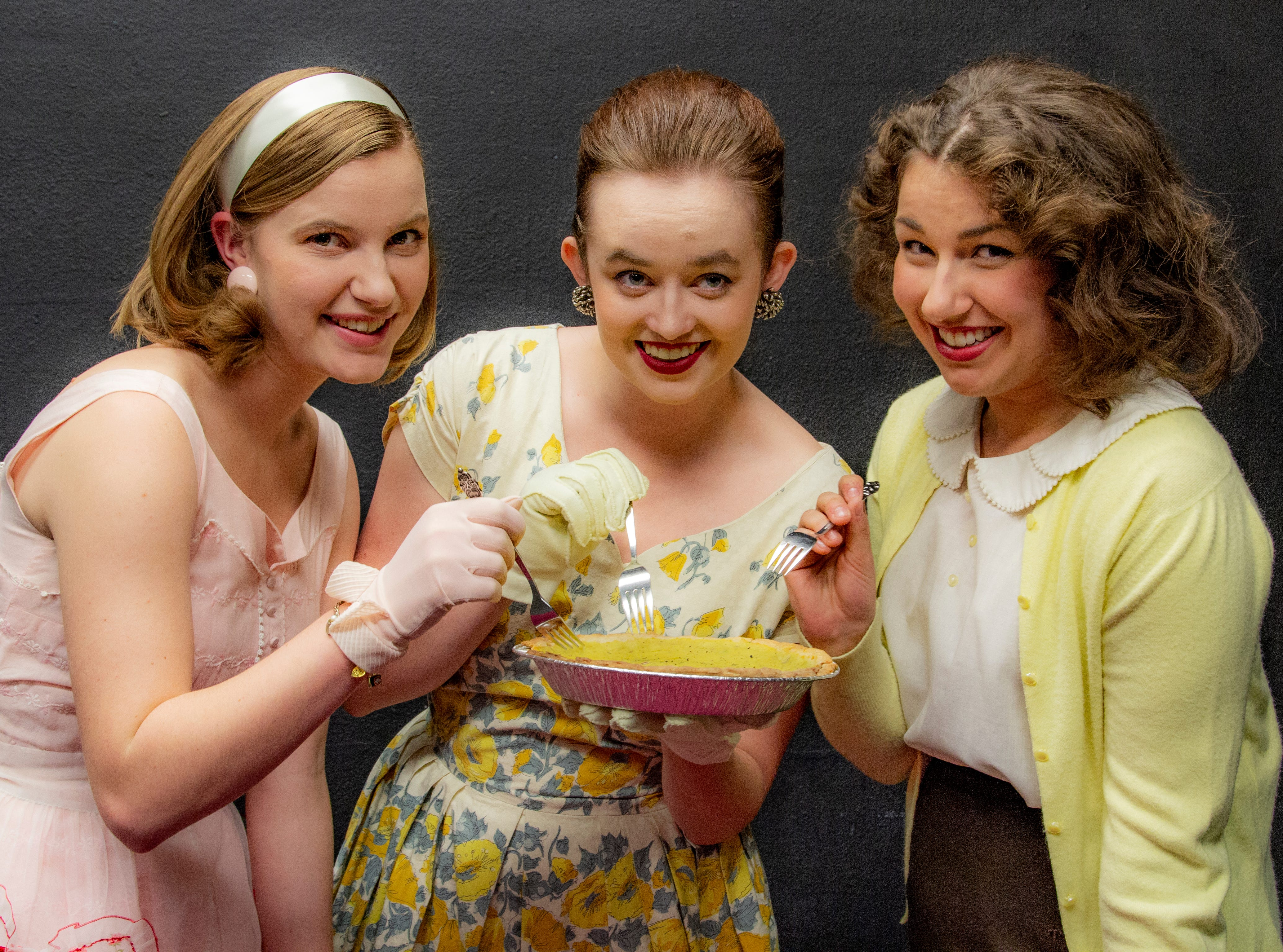 """""""5 Lesbians Eating a Quiche"""": A comedy set in the midst of the Cold War that follows five women attending an annual quiche breakfast who end up embracing their true selves, 7:30 p.m. Nov. 8-10, 14-17 and 2 p.m. Nov. 11, Western Oregon University, Rice Auditorium, 345 Monmouth Avenue N, Monmouth. $14 general admission, $10 for seniors, $8 for students and free for WOU students with ID."""