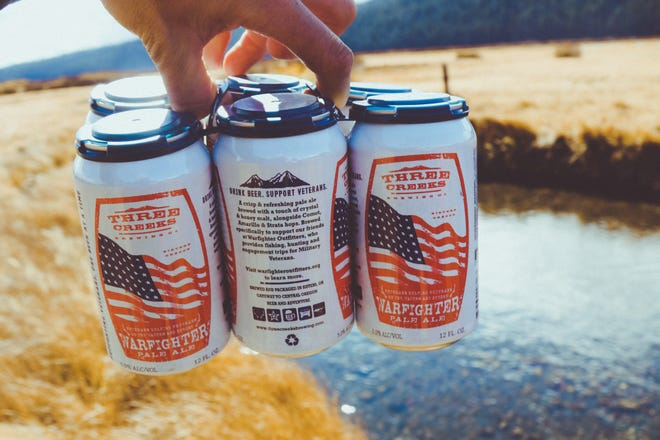 Warfighter Pale Ale is a collaboration between a brewery in Sisters and Warfighter Outfitters, a non-profit organization dedicated to supporting and building community among veterans.