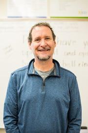 Brad Dixon, social studies and AVID teacher, Claggett Creek Middle School