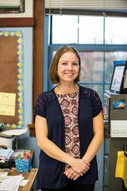 Alyssa Darnell, teacher, Parrish Middle School