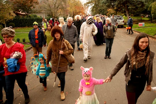 The annual Halloween Parade at Fairmount Park in Salem will be on Thursday, Oct. 31.