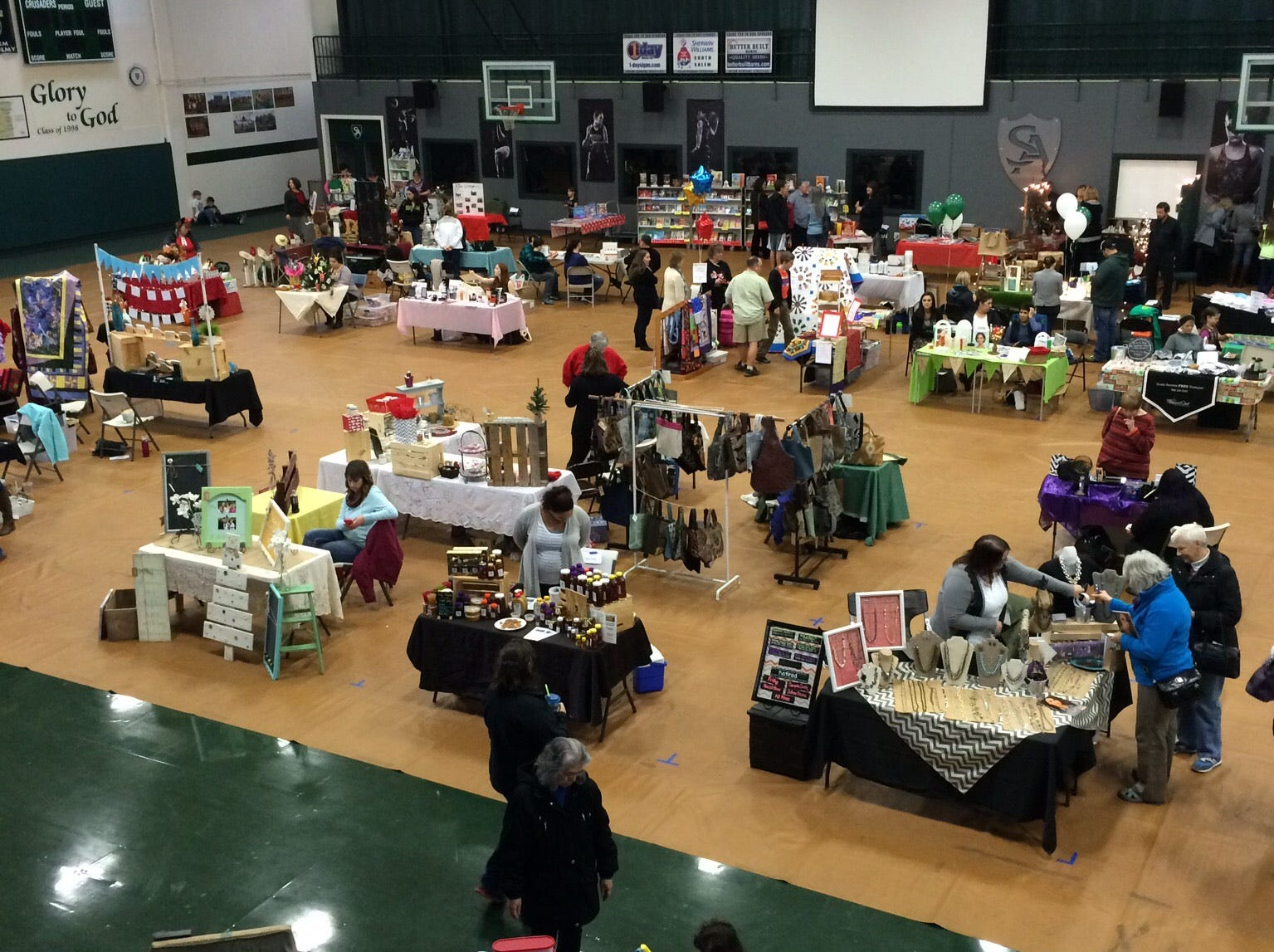 Salem Academy Christmas Market:Craft bazaar featuring quilts, blankets, Christmas decorations, metalwork and more to raise money for the school's 8th grade Washington, D.C., trip in the spring, 9 a.m. to 4 p.m. Saturday, Nov. 10, Salem Academy, 942 Lancaster Drive NE, Salem. www.facebook.com/events/481811452296026.
